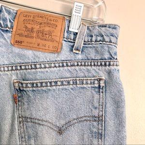 Levi's 550 Vintage High Rise Mom Jean Shorts